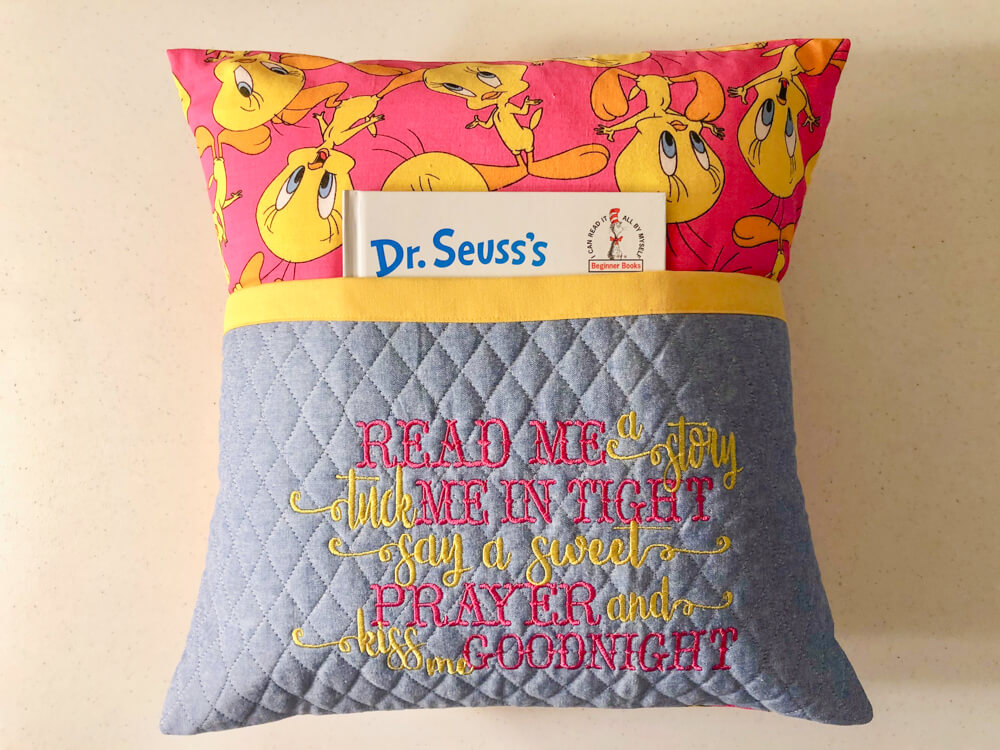 Reading Pillow-Read Me a Story