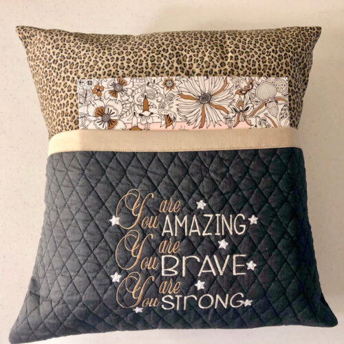 Reading Pillow-You are amazing