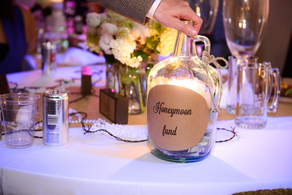 Honeymoon fund jar