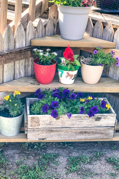 rustic-wood-planter