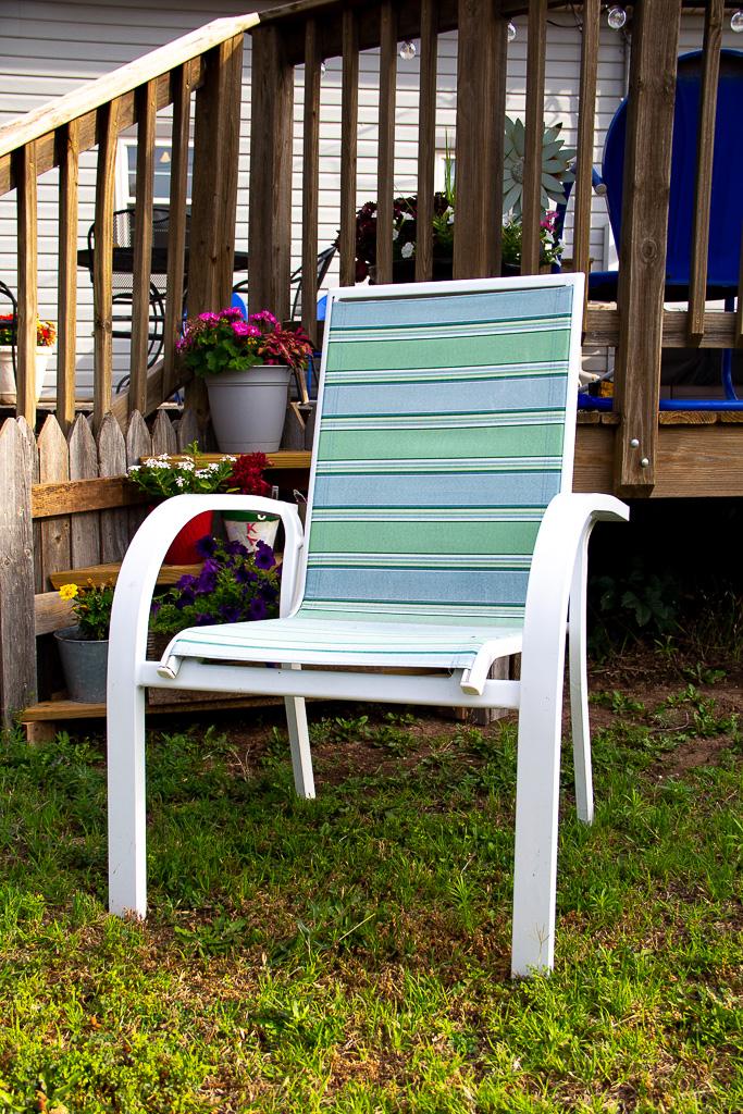 sling-chair-repair before
